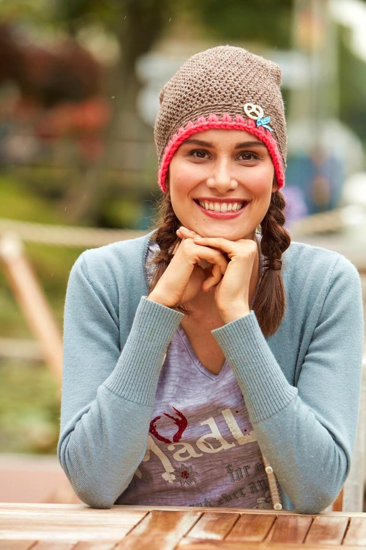Gehäkelte Damenbeanie - kostenlose Häkelanleitung | Häkeln im Herbst ...