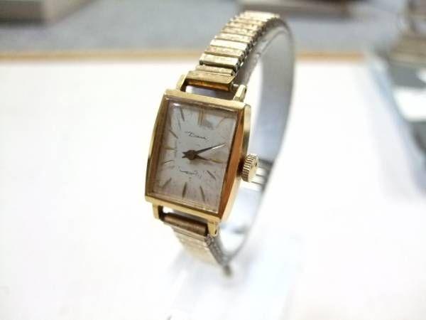Orient 60sアンティークオリエントダイアナ手巻き動品53 時計 Watch Antique ¥2200yen 〆06月01日