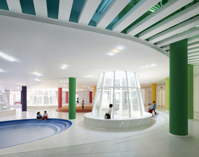 sako建築設計工社 天津ループ 建築 天津 幼稚園 デザイン