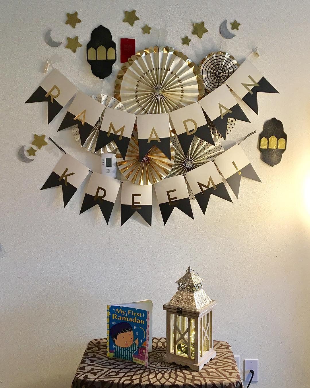 Omniashaker On Instagram تاني زينة رمضان لموسى ده أول كورنر لسه هضيف عليه لمسات بسيطة إن شاء الله Ramadan Decorations Ramadan Home Decor Decals
