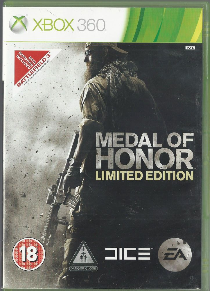 Xbox 360 Medal of Honor -- Limited Edition