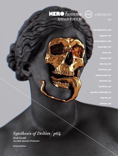 NERO Homme magazine Nr. 2