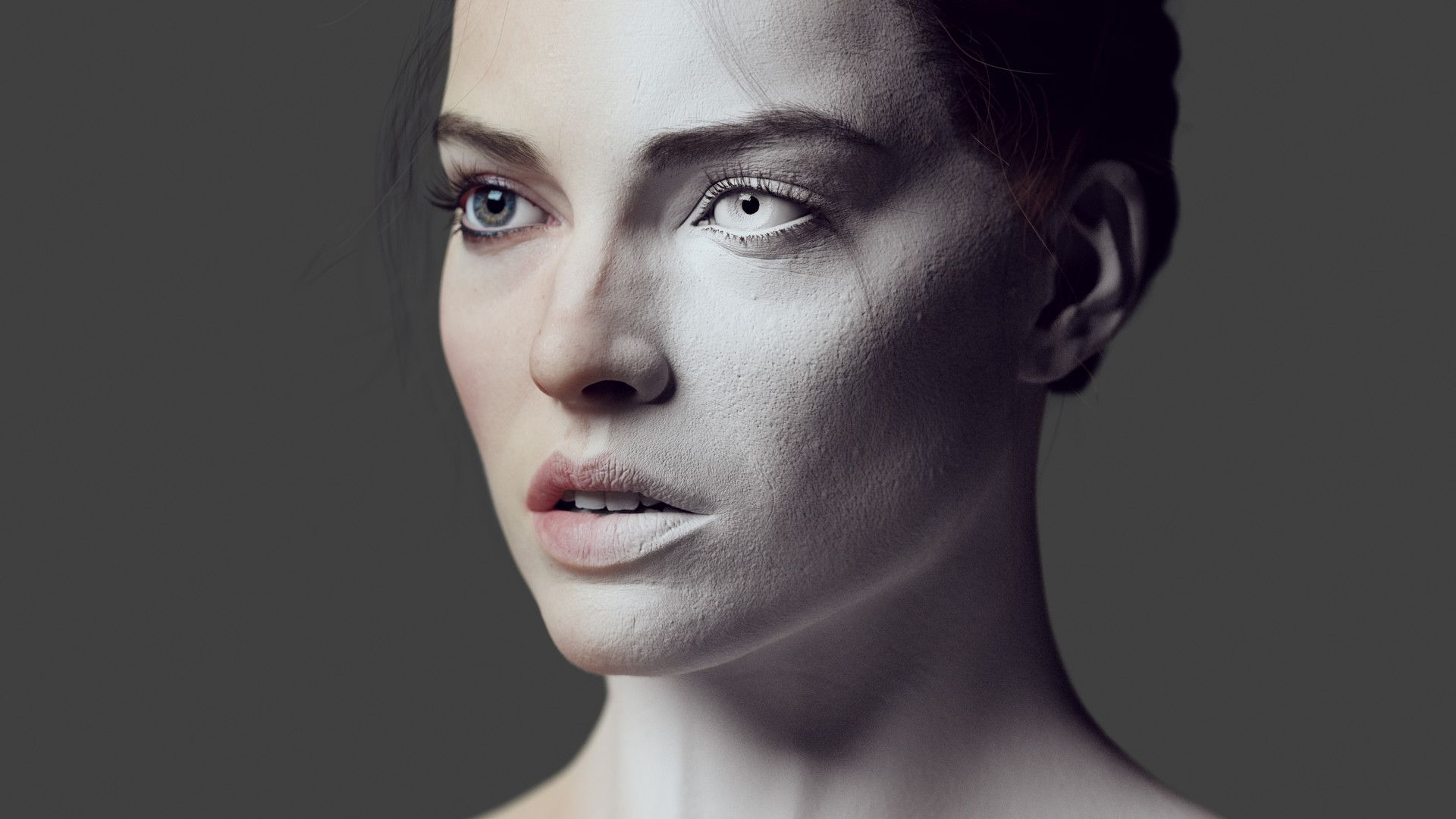 Animation No Scans Or Likeness Attemptulped In Zbrush, Textures In  Mari, Xgen Hair