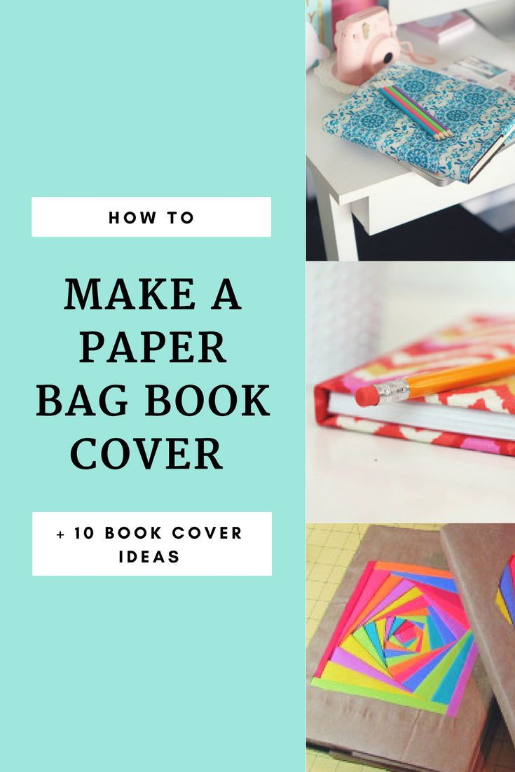 Creative Book Cover Ideas ~ How to cover a book with 10 creative book cover ideas back to