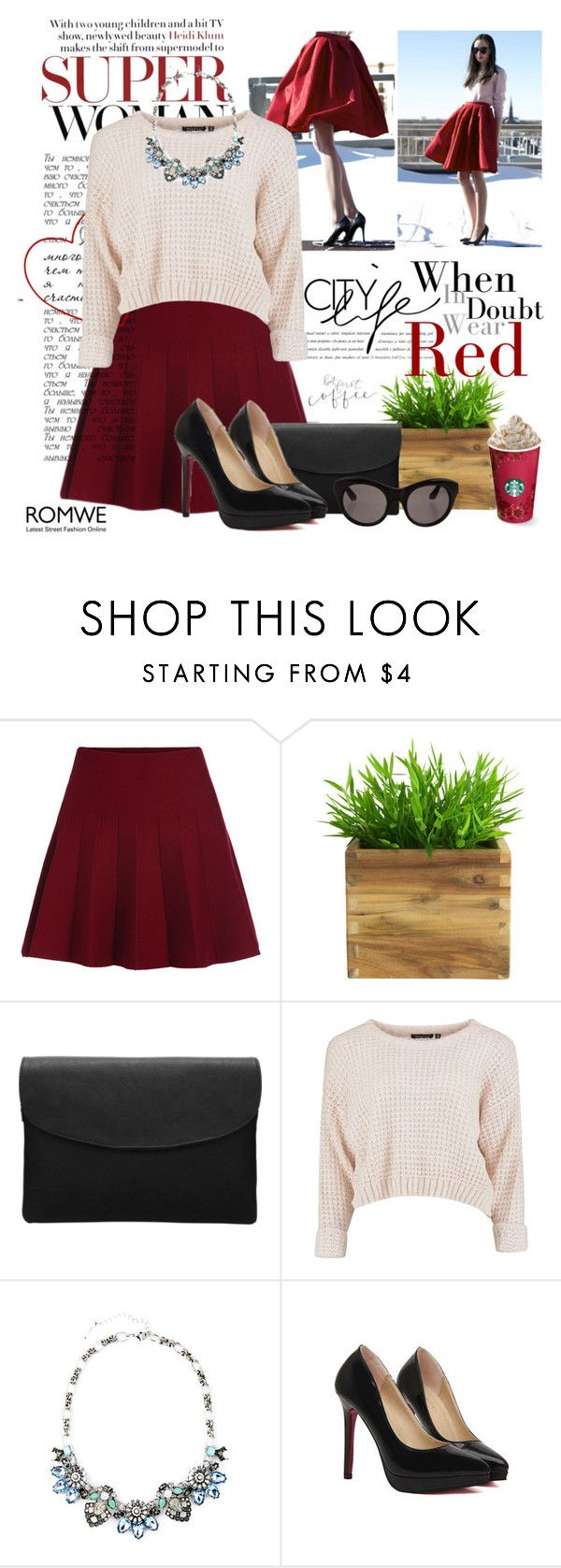 """""""Flare"""" by bmaroso ❤ liked on Polyvore featuring Black Rivet, Elizabeth and James, women's clothing, women, female, woman, misses, juniors, GetTheLook and romwe"""