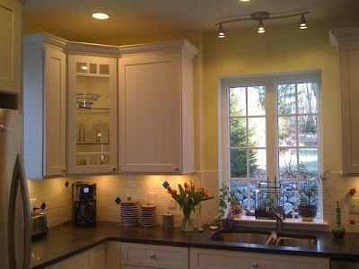 kitchen track lighting ideas over sink