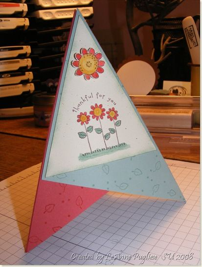 Wee Inklings Teepee Card Tutorial Card Tutorial Cards Fun Fold Cards