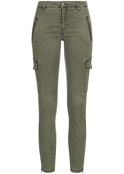 039778706044 ONLY Damen Cargo Jeans Hose 4-Pockets 2 deko Taschen hinten tarmac ...