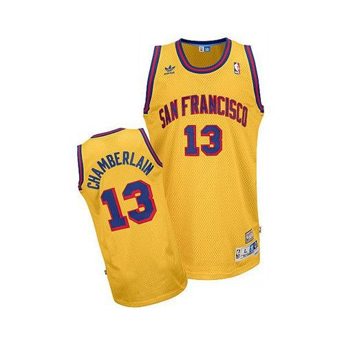 cbc86aa1621 Wilt Chamberlain San Francisco Warriors Soul Swingman Throwback Jersey