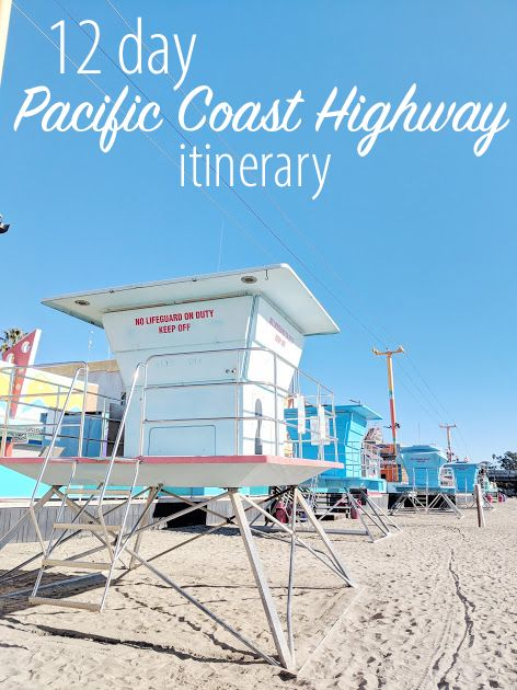 Pacific Coast Highway Itinerary #westcoastroadtrip