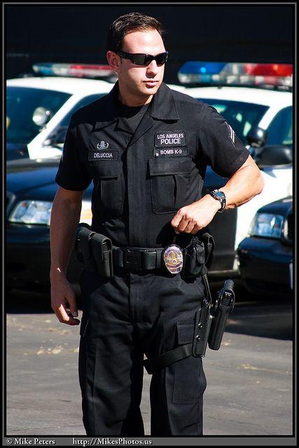 20091017 Lapd K9 Officer 001 Lapd Men In Uniform Los Angeles Police Department