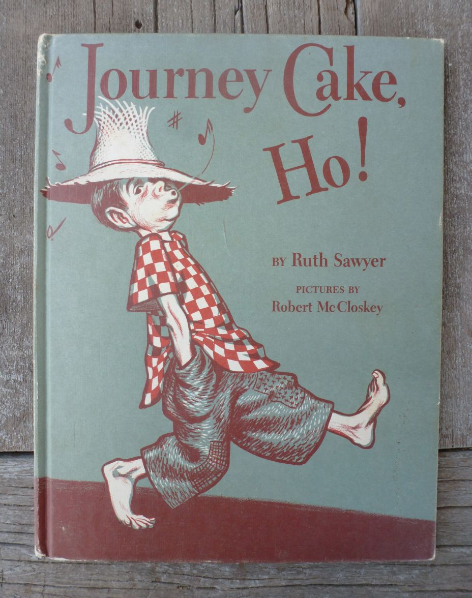 Perfect Picture Book Journey Cake, Ho! by Ruth Sawyer ages 3 and up farm animals http://julierowanzoch.wordpress.com/2014/04/04/ppbf-journey-cake-ho/