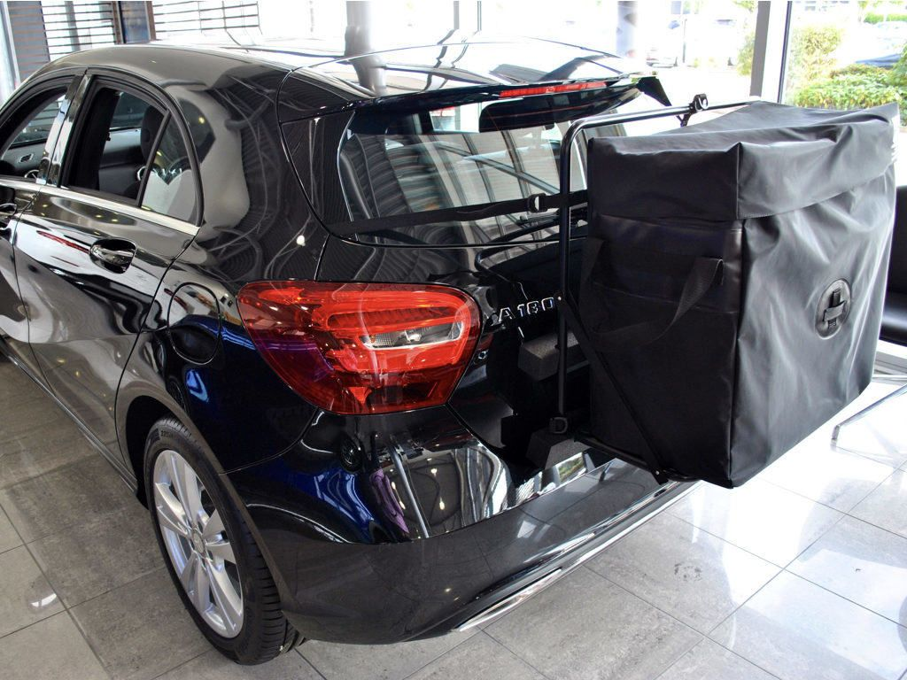 Mercedes A Class Roof Box : No Clamps No Bars No Hassle