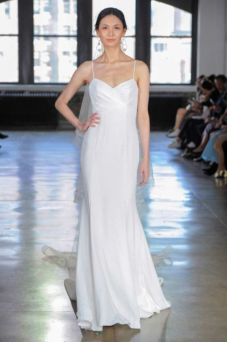 Einfache Brautkleider 2019: Die 50 coolsten Designs der Saison Vestidos de …