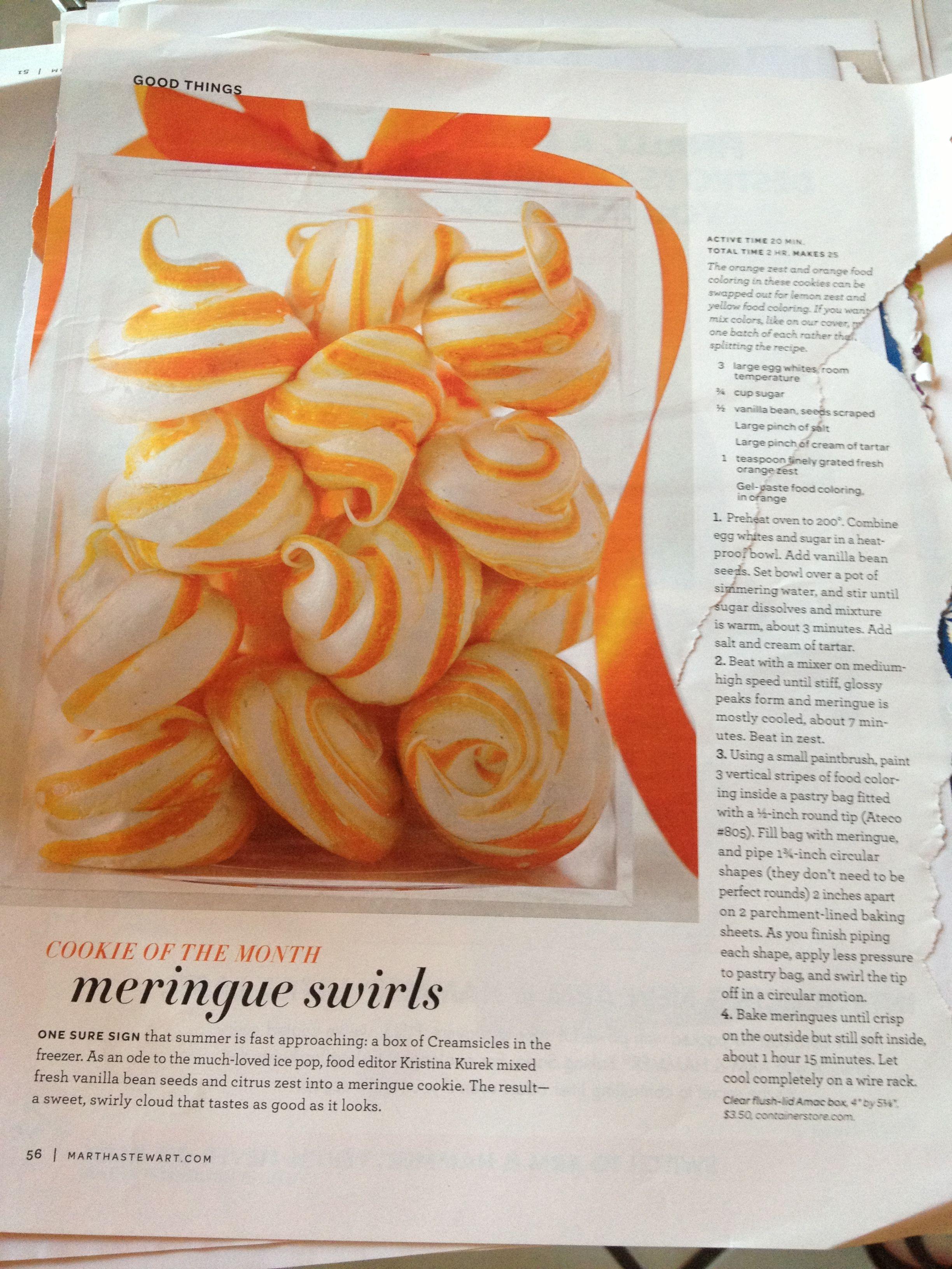 meringue swirls | Cake design + desserts | Pinterest
