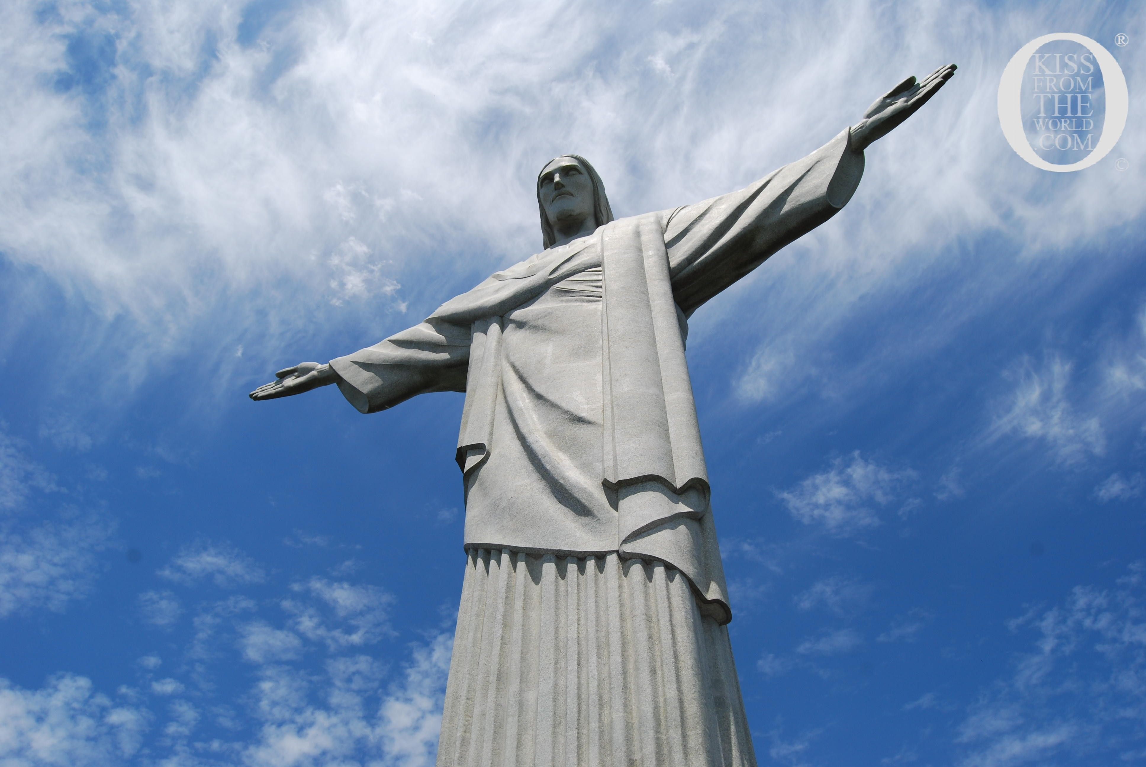 Christ the Redeemer: Standing on top of Corcovado Hill, the statue can be seen from almost everywhere in the city. Brazil, Rio De Janeiro photo shot.