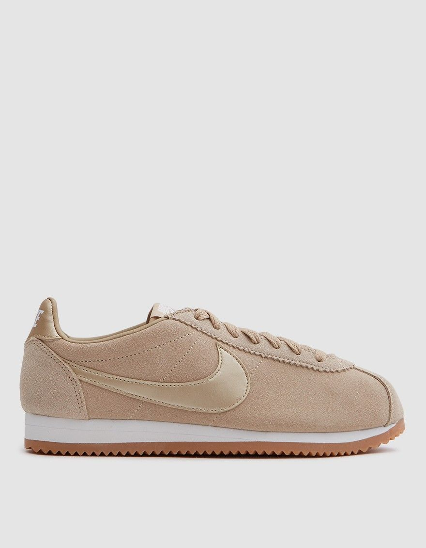 98a7b79e957c8 Nike   Classic Cortez Suede in Mushroom Summit White in 2019
