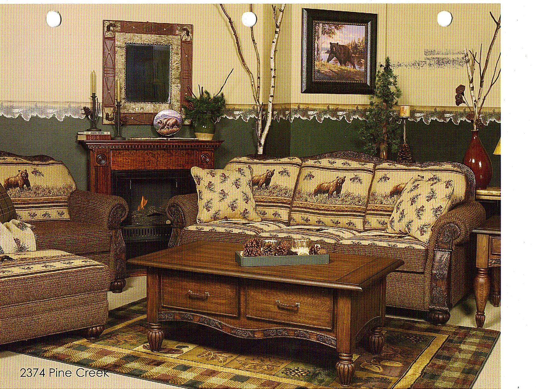 Lodge Style Bedroom Furniture: Rustic Cabin Style Furniture