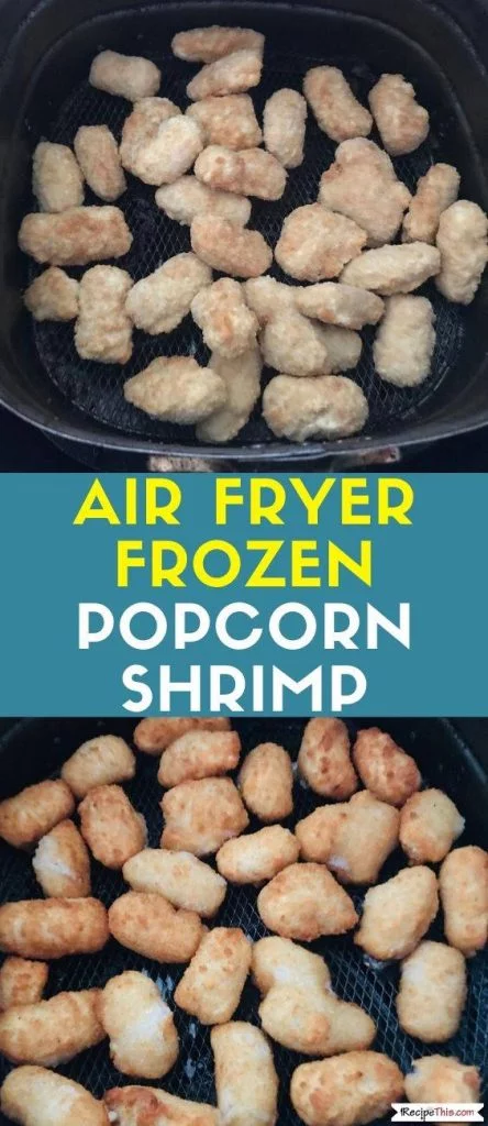Air Fryer Frozen Popcorn Shrimp Recipe Food recipes