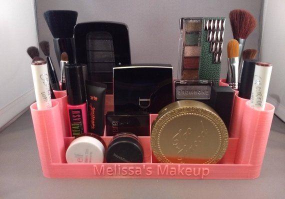 Makeup Organizer 3d Printed Personalized Mua Makeup Palette Storage