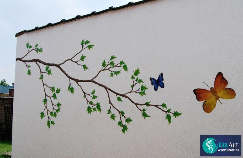 Pin Op Vlinders Tuinvlinders Muurvlinders Tuindecoratie