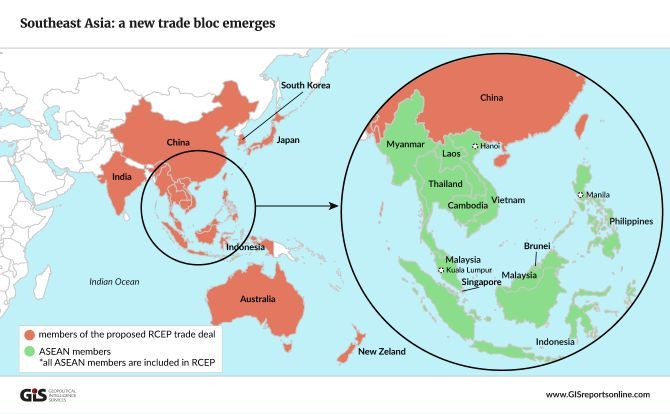 A map showing asean countries and the other countries included in the trump administration will have a difficult time keeping u allies from growing closer to china but the emphasis on bilateral trade agreements could platinumwayz