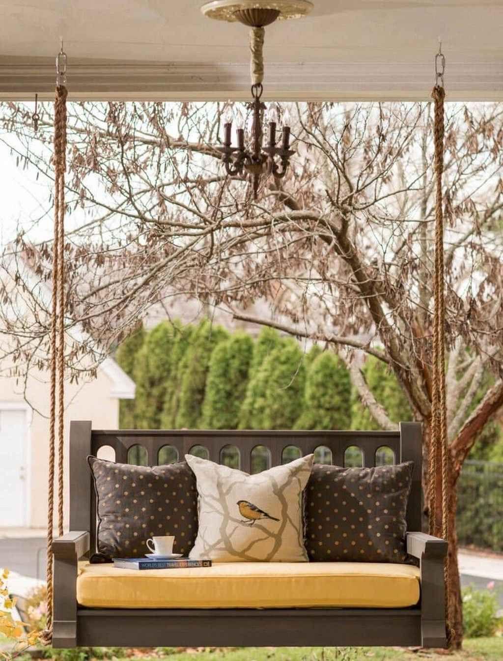 farmhouse porch swing pillows