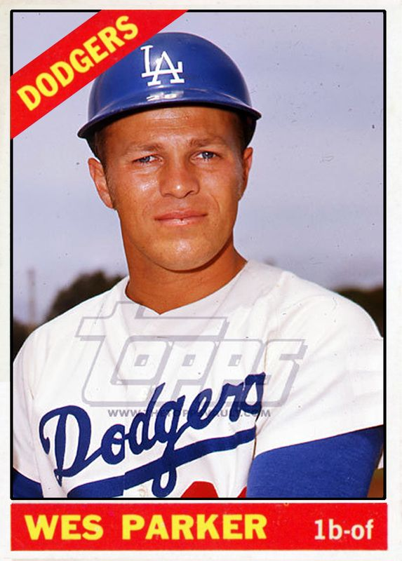 Baseball Cards Picturing All Qualifying Los Angeles Dodgers Rostered Players For 1966 Baseball Cards Dodgers Baseball