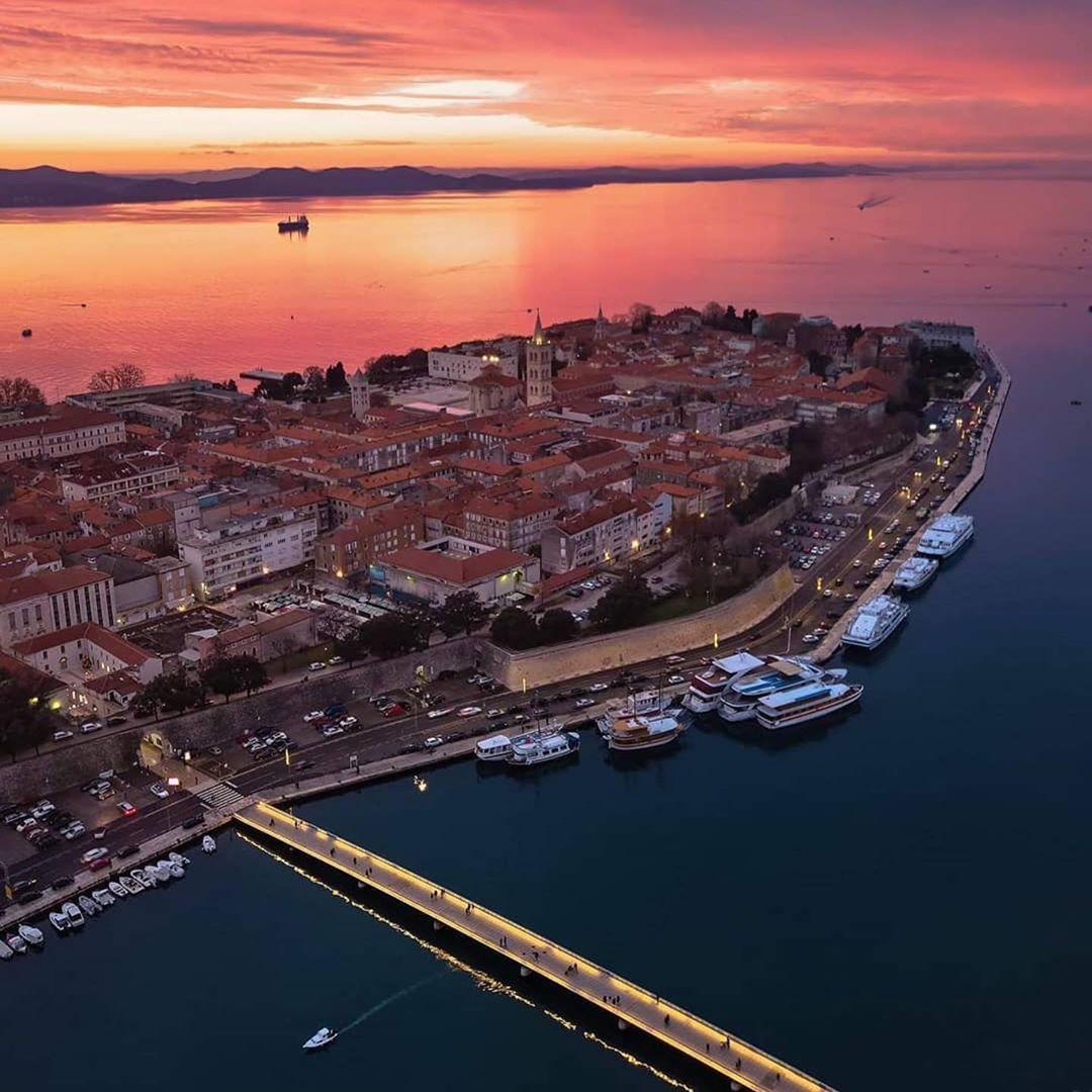Like Zadar On Instagram Postcard By Lucky M E Zadar Likezadar Feelzadar Zadarsunset Sunset Zadarcroatia Droneoftheday C Zadar Croatia Travel