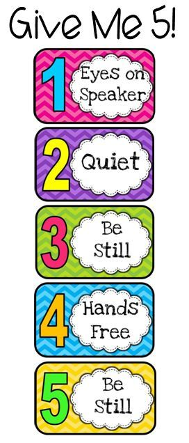 image about Classroom Signs Printable called Present Me 5 Totally free Printables  schooling Cl