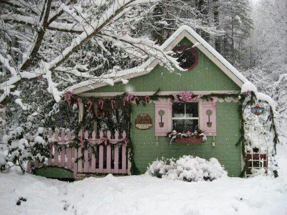 Snowy warm