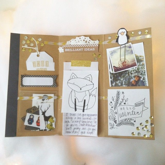 HereS The Inside Of The TriFold Letter From YesterdayS Post I