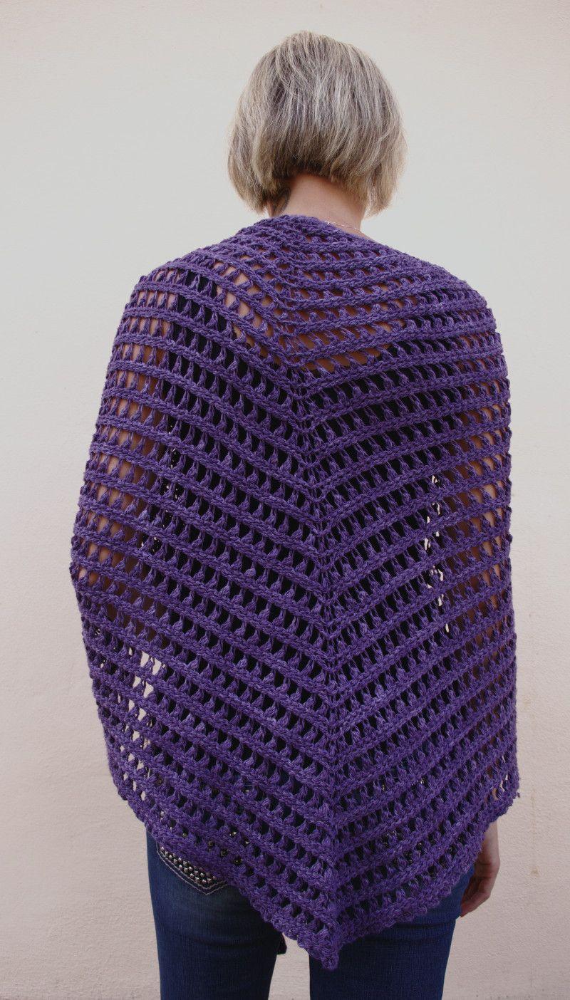 demeterel, uncinetto tunisino | Tunisian Crochet | Pinterest