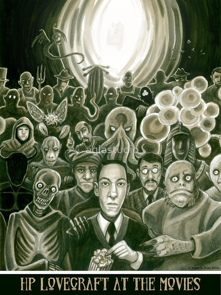 HP Lovecraft At The Movies by aglastudio | The Stars Are