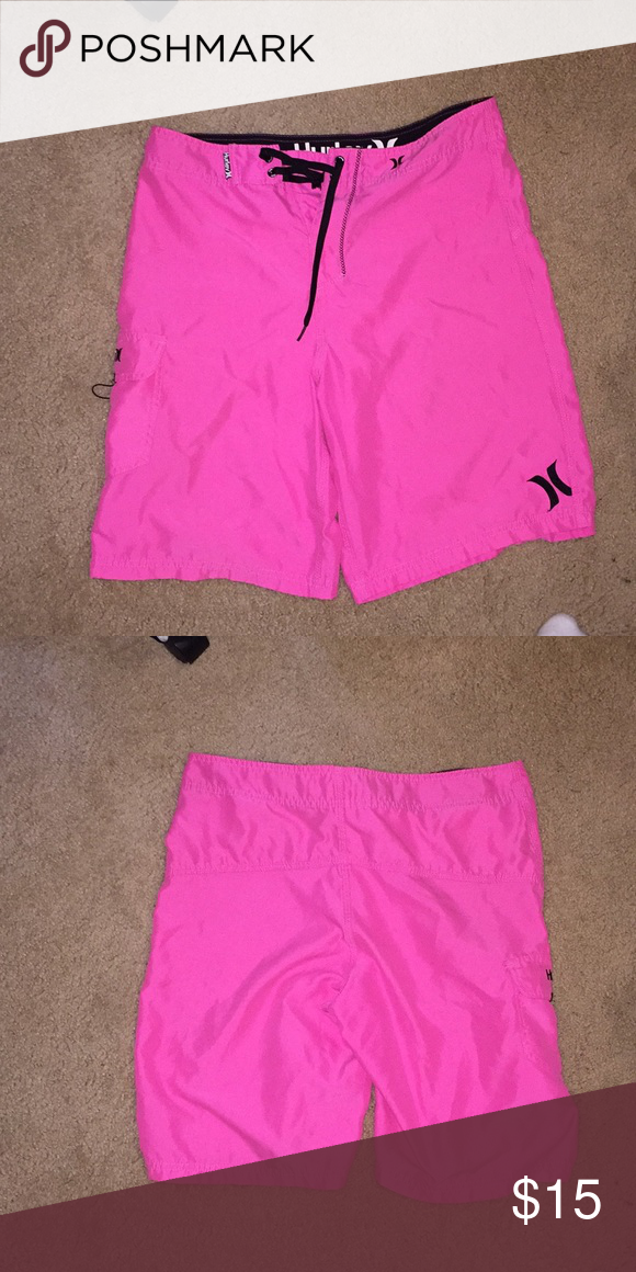 c7e31821d8 Pink Hurley swimsuit Great condition barely worn Hurley Swim Swim Trunks
