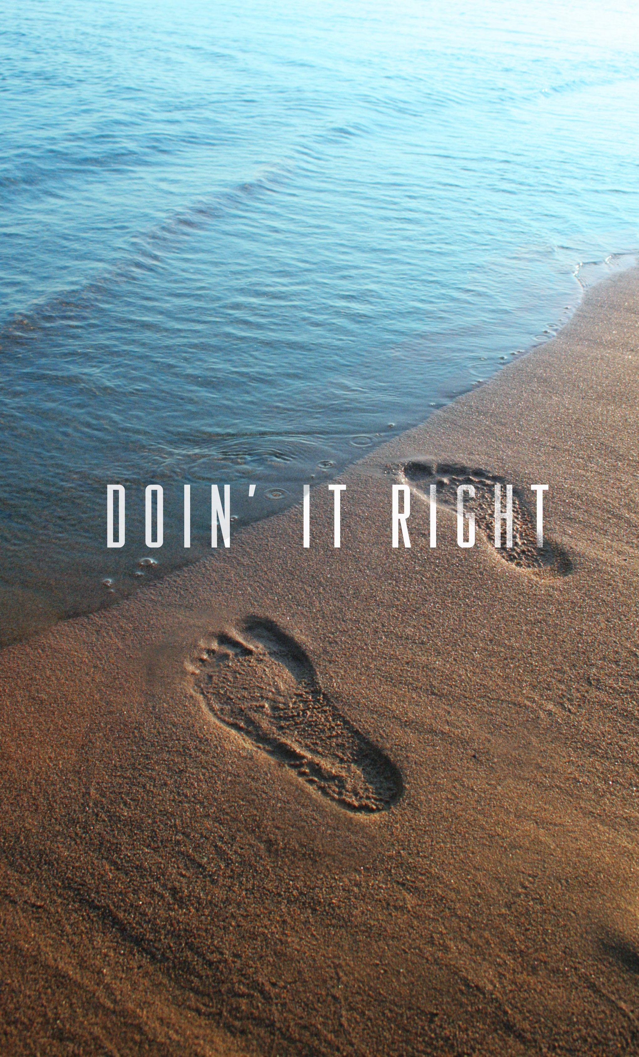 Doin' It Right