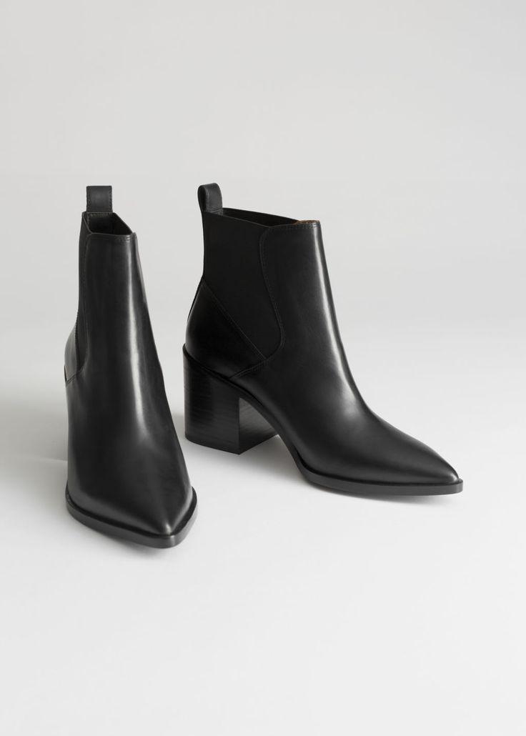 Croco chelsea ankle boots | Støvler, Damesko og Ankelstøvler