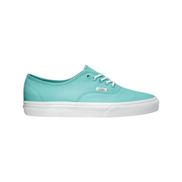 96c313f1fe Vans Deck Club Authentic - Sea Green Casual Shoes ( 55) ❤ liked on Polyvore  featuring shoes