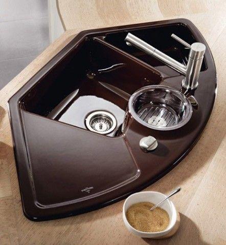 15 idées astucieuses pour la cuisine Pinterest Sinks, Kitchens
