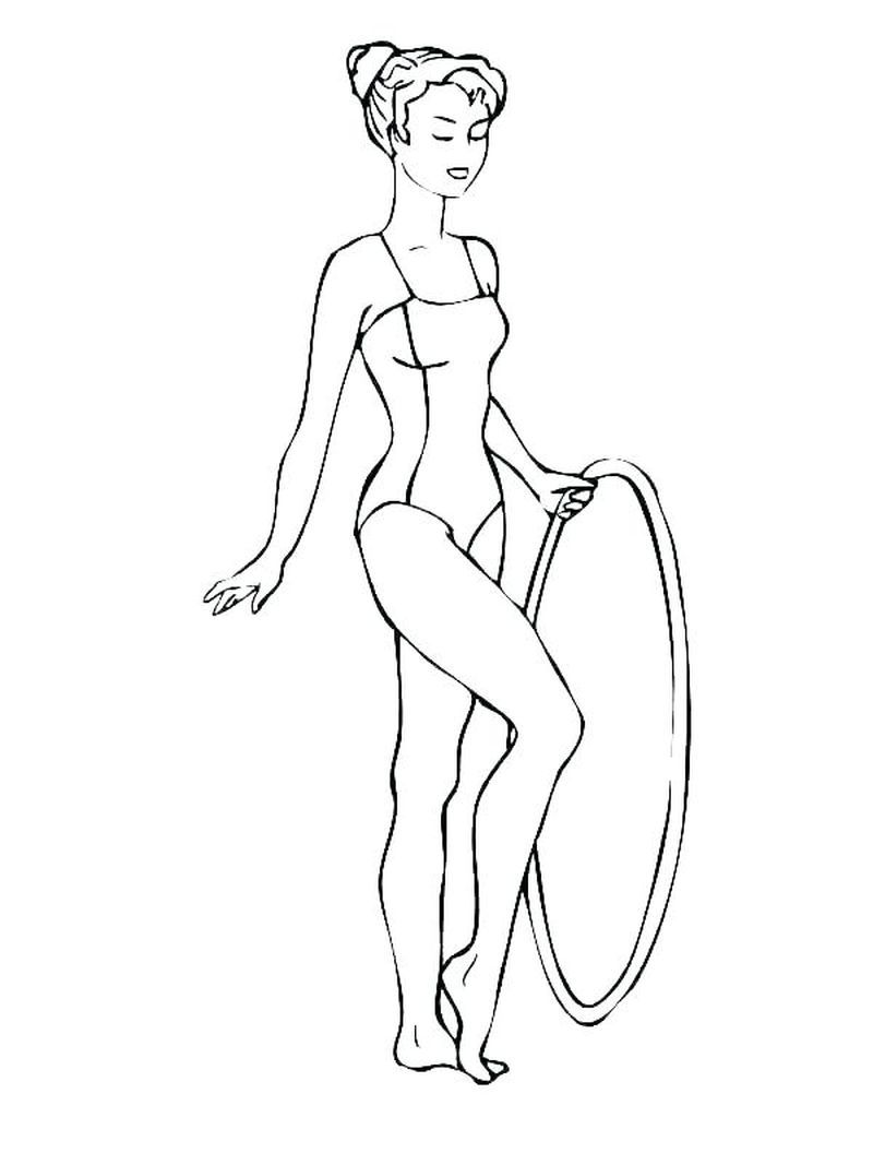 Gymnastics Coloring Pages Sports Coloring Pages Coloring Pages Online Coloring Pages