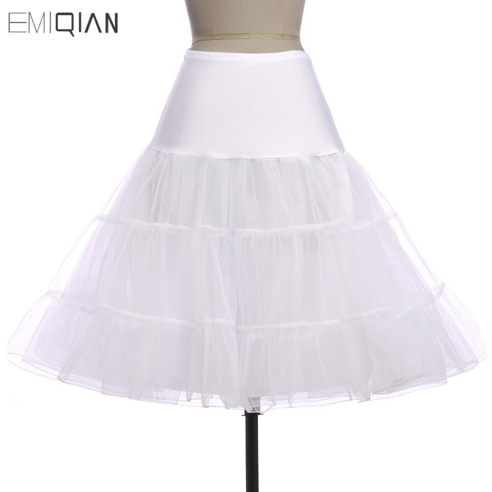 Tutus black white red short petticoat for cocktail dresses crinoline