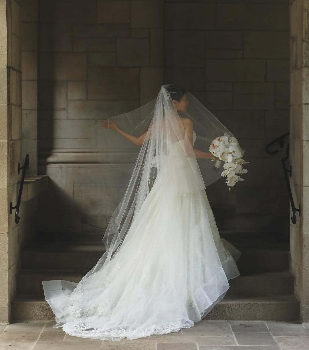 Loved capturing vanessa in her beautiful wedding gown photo by