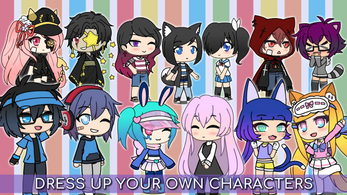 Gacha Life Pc By Lunime Create Your Own Character Create Your Own Anime Cute Anime Character