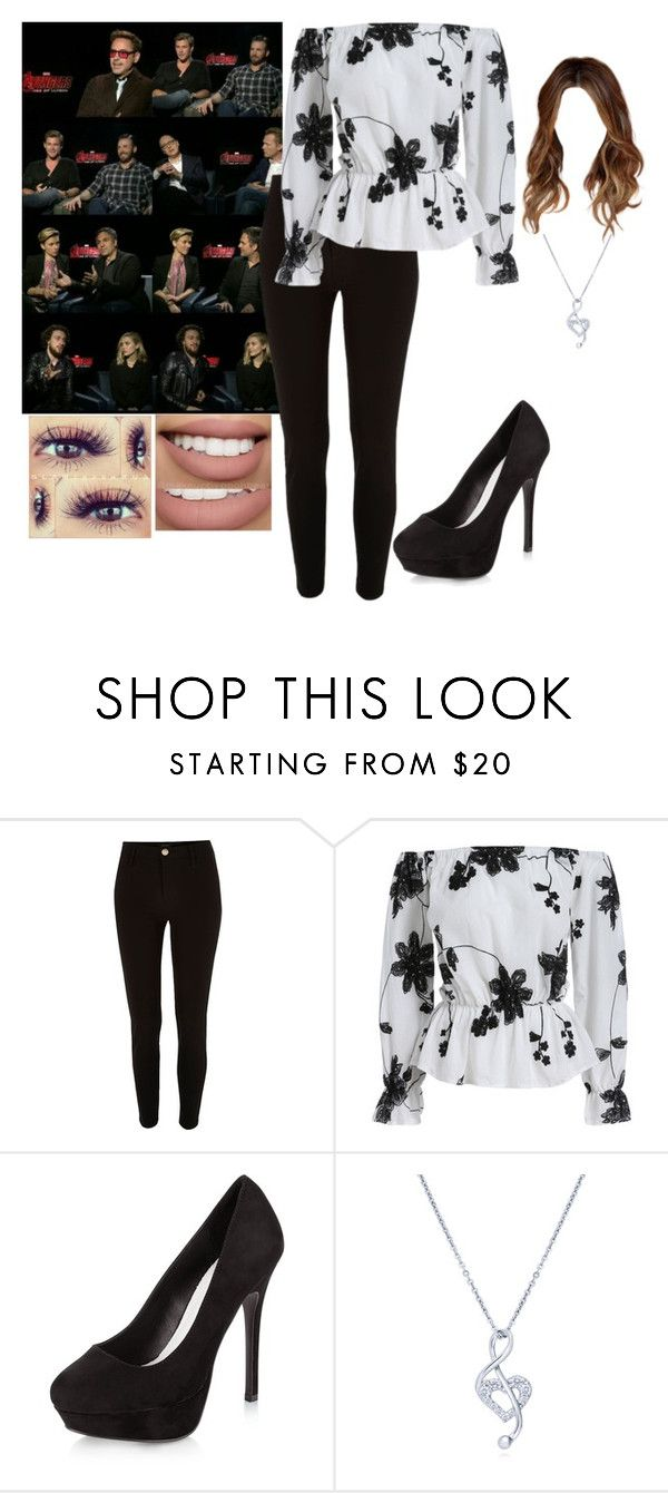 """""""⤵⏬⬇"""" by brenda0rtiz ❤ liked on Polyvore featuring River Island, New Look, BERRICLE and Sephora Collection"""