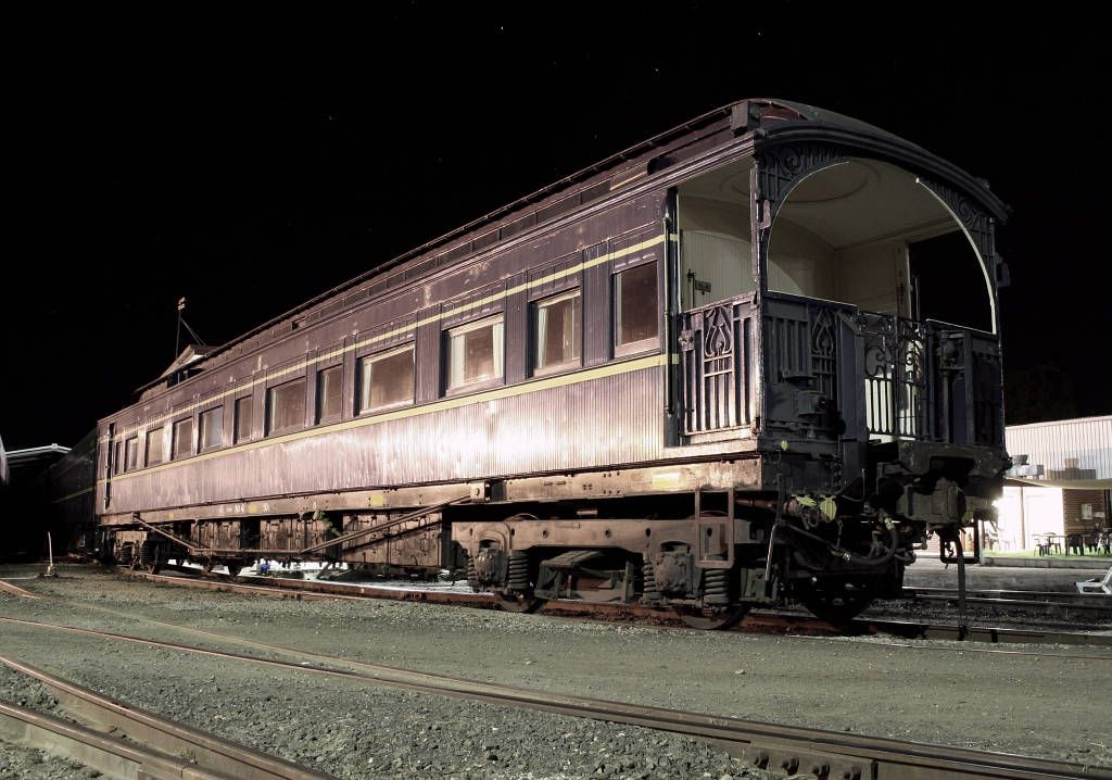 The Victorian Railways operated Australian Royal Trains to