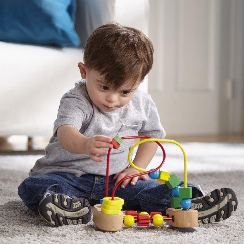 Baby Educational toys: Melissa & Doug First Bead Maze ...