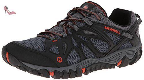 Merrell All Out Blaze Aero Sport, Chaussures de randonnée basses homme,  Black/Red