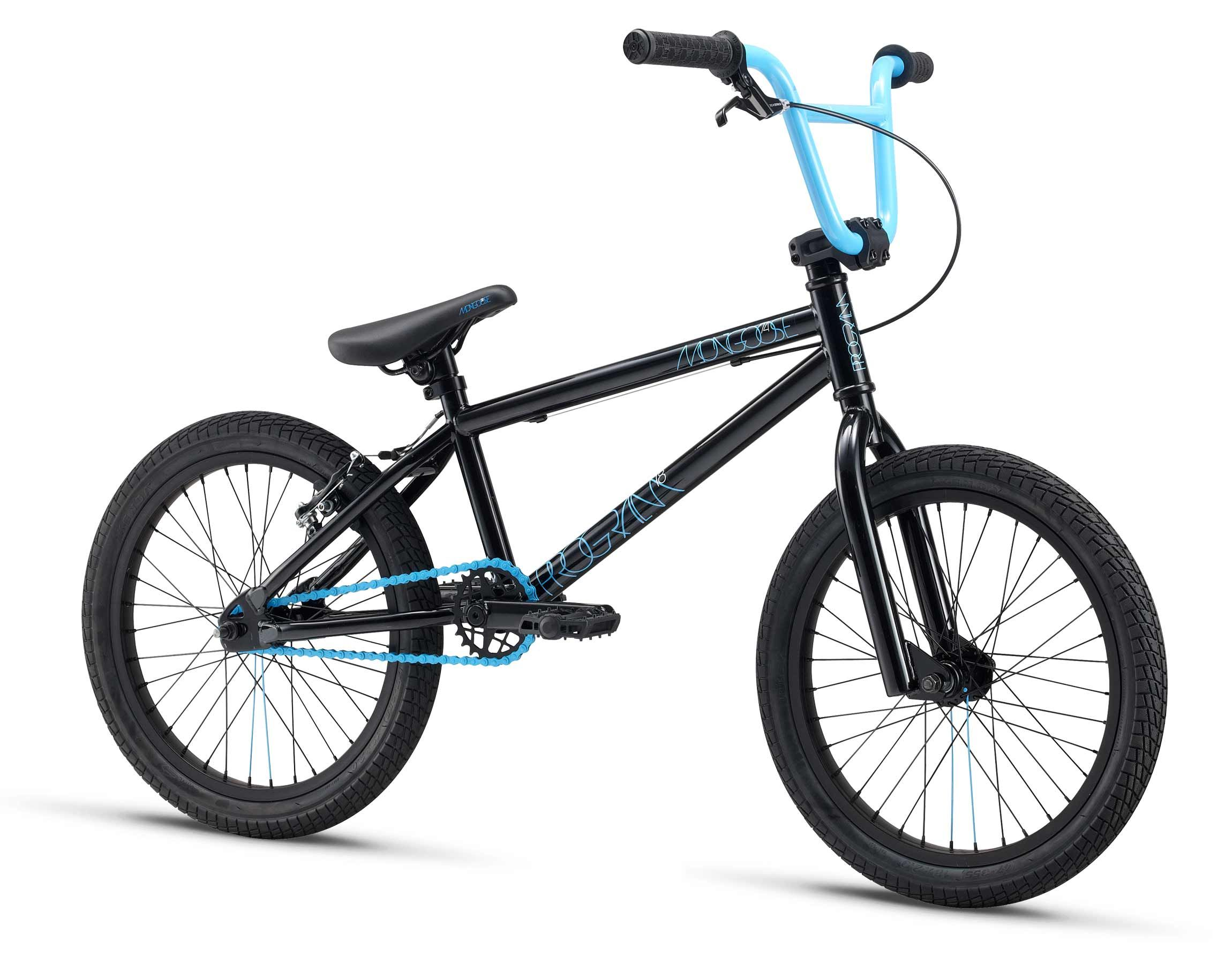 Mongoose program 18 kids bmx bike with hi ten frame