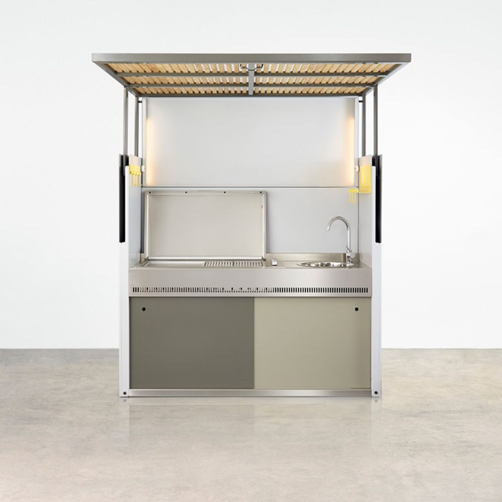 The Tilt Outdoor Kitchen designed by Justin Hutchinson combines ...
