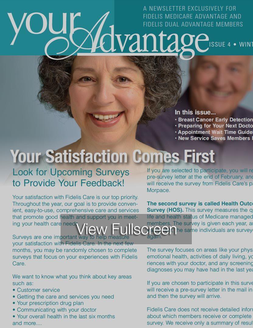Pin by Fidelis Care on Medicare Member Newsletter